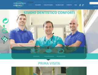 studiodentisticoconforti.it screenshot