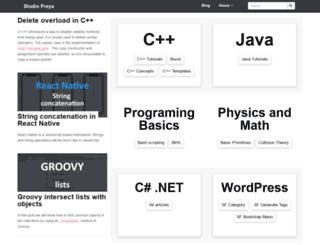 studiofreya.com screenshot