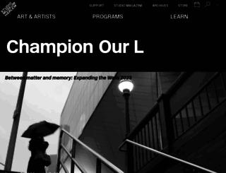 studiomuseum.org screenshot