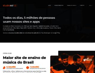 studiosol.com.br screenshot