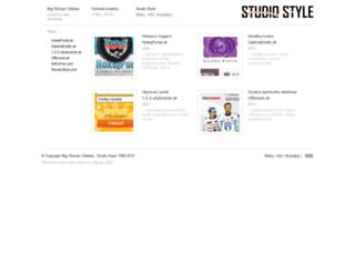 studiostyle.sk screenshot
