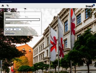 studip.hs-rm.de screenshot