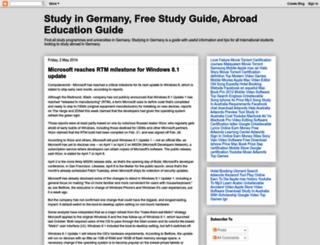 studying4germany.blogspot.com screenshot