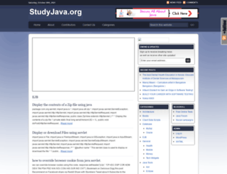 studyjava.org screenshot