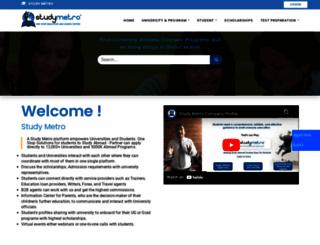 studymetro.com screenshot