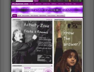 studyzones.com screenshot