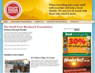 stuffyourrucksack.com screenshot