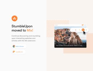 stumble-upon.com screenshot