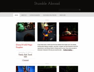 stumbleabroad.net screenshot
