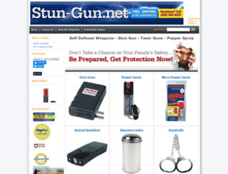 stun-gun.net screenshot