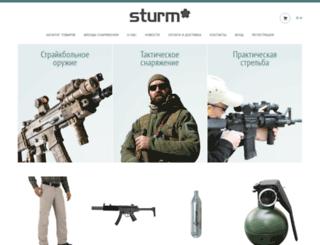 sturm.kz screenshot