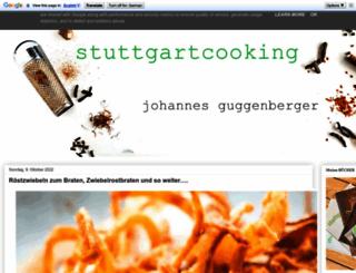 stuttgartcooking.de screenshot
