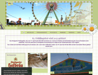 stuttgarter-fruehlingsfest.de screenshot