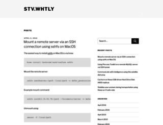 stv.whtly.com screenshot