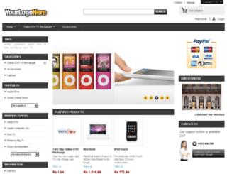 stvrecharge.com screenshot