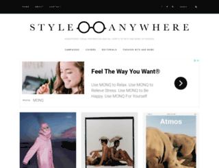 style-anywhere.com screenshot