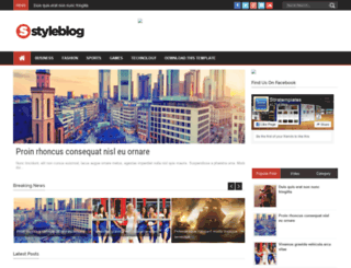 style-blog-sora-templates.blogspot.in screenshot