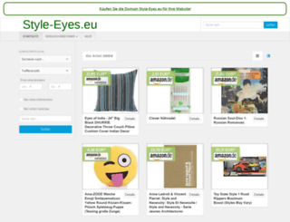 style-eyes.eu screenshot