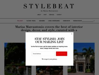stylebeatblog.com screenshot
