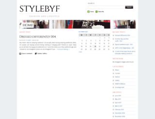 stylebyf.wordpress.com screenshot