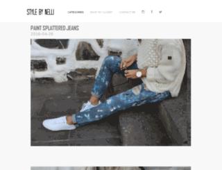 stylebynelli.com screenshot