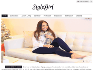 stylegirl.storenvy.com screenshot