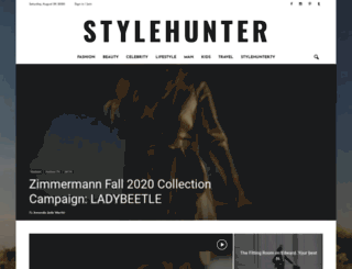 stylehunter.com screenshot