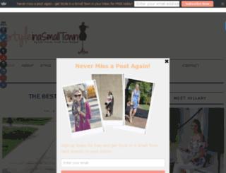 styleinasmalltown.com screenshot