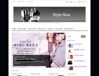 stylenow.co.uk screenshot