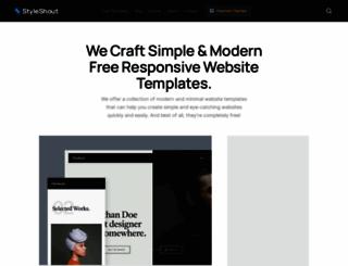 styleshout.com screenshot