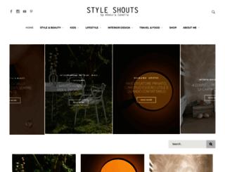 styleshouts.com screenshot