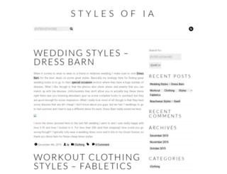stylesofia.com screenshot