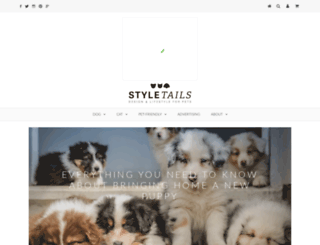styletails.com screenshot