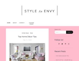 styletoenvy.com screenshot