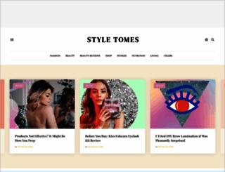 styletomes.com screenshot