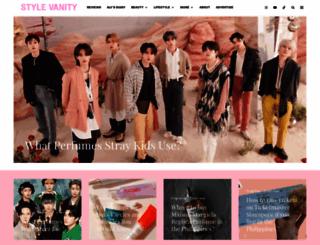 stylevanity.com screenshot