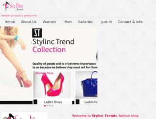 stylinctrendz.com screenshot