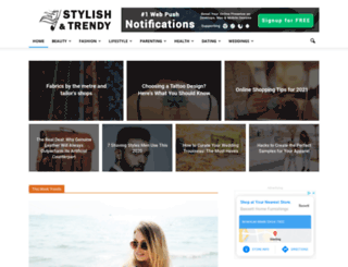 stylishandtrendy.com screenshot