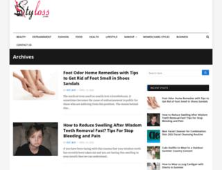 styloss.com screenshot
