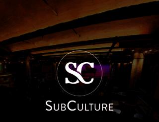 subculturenewyork.com screenshot