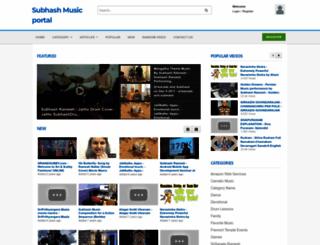 subhash.org screenshot