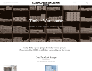 subirest.com.au screenshot
