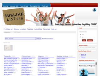 sublimelist.org screenshot