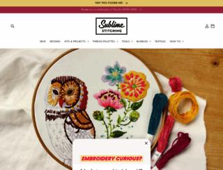 sublimestitching.com screenshot