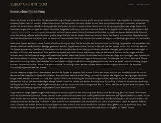submiturlhere.com screenshot