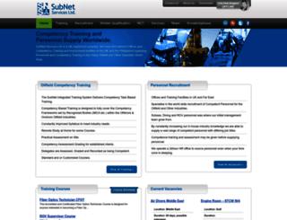 subnetservices.com screenshot