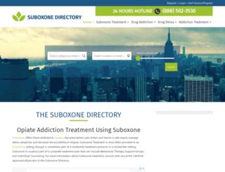 suboxone-directory.com screenshot