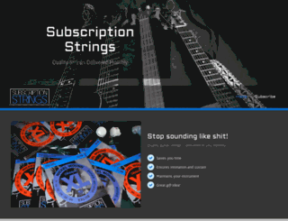 subscriptionstrings.com screenshot