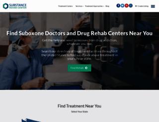 substancerehabcenter.com screenshot