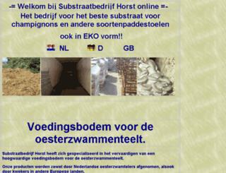 substraatbedrijfhorst.nl screenshot